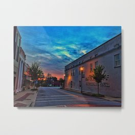 Washington Street Sunrise Metal Print