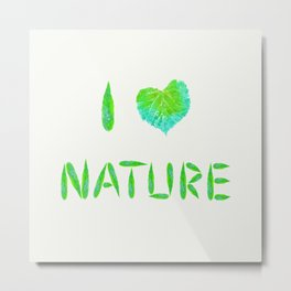 Nature lover Metal Print