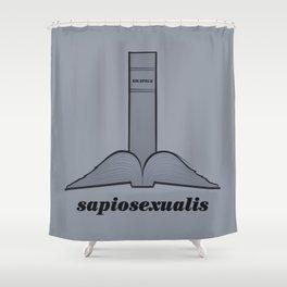 Sapiosexualis Shower Curtain