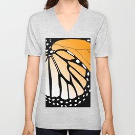 Butterfly Wing - Monarch Unisex V-Neck
