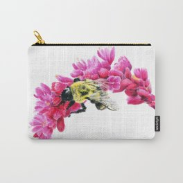 Bumble Me Pink by Teresa Thompson Carry-All Pouch
