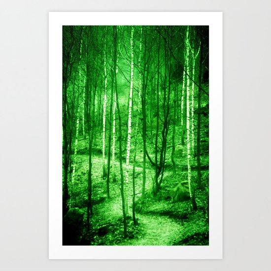 Trees  - JUSTART © Art Print