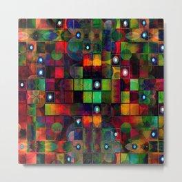 Urban Perceptions, Abstract Shapes Metal Print