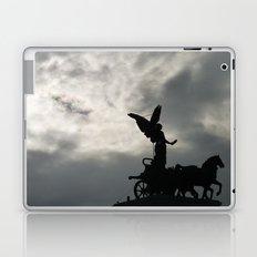 Roman angel and chariot at sunset 2 Laptop & iPad Skin