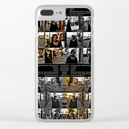 A Massive Unfinished Sympathy Clear iPhone Case