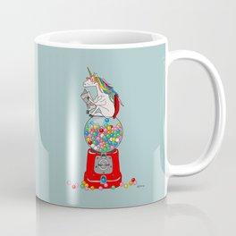 Unicorn Gumball Poop Coffee Mug