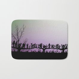 Marching Trees Bath Mat