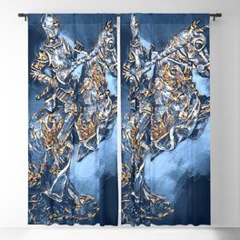 Medieval Knight Blackout Curtain