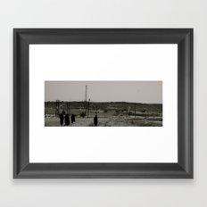 Muscat women Framed Art Print