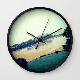 Summertime in Dinard Wall Clock