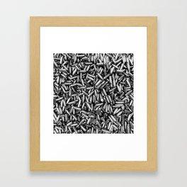 Silver bullets Framed Art Print