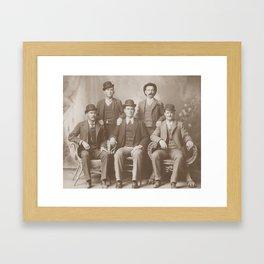Butch Cassidy - Sundance Kid - Wild Bunch Framed Art Print