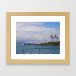 Kapalua Bay Framed Art Print