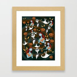 This Is Halloween Framed Art Print