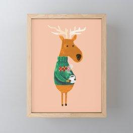 Hot Coffee Framed Mini Art Print