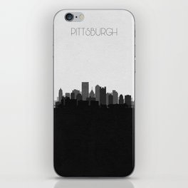 City Skylines: Pittsburgh (Alternative) iPhone Skin