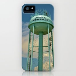 Tower And Clouds iPhone Case