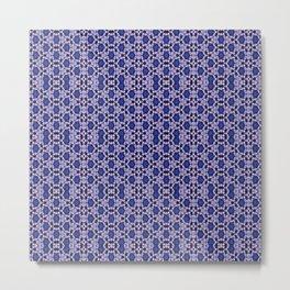 Pattern Print 152101 Metal Print