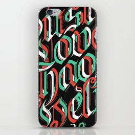 CHAOS - (color) iPhone Skin
