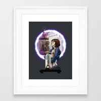 bioshock infinite Framed Art Prints featuring Bioshock Infinite: Freedom  by Daydreams and Giggles Studios