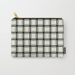 Ivory Weave Carry-All Pouch