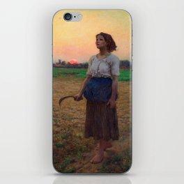 Jules Breton - Song of the Lark iPhone Skin