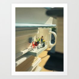 Our little corner of the city Art Print