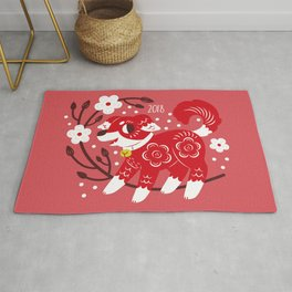 Year of the Dog 2018 Rug