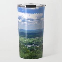 Scenic overlook of Hot Springs Arkansas Travel Mug