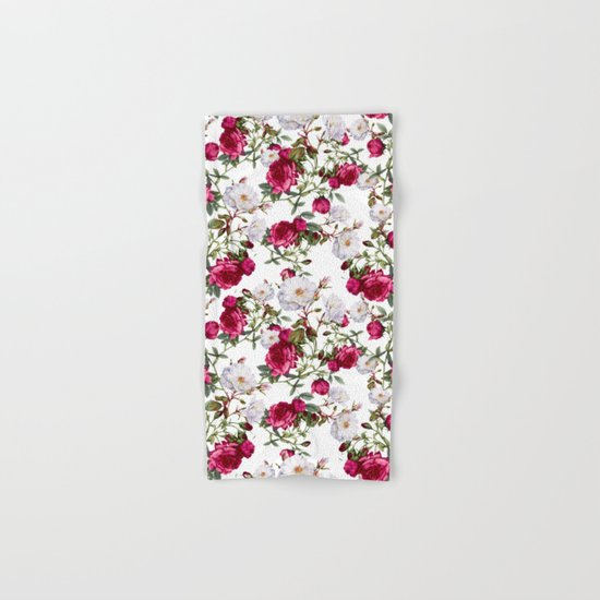 Vintage Roses Hand & Bath Towel