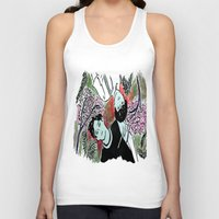 kpop Tank Tops featuring Forest Floor by Ahri Tao