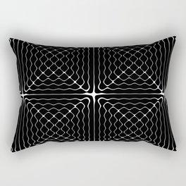 Energy Vibration 1.  Frequency - Chladni - Cymatics Rectangular Pillow