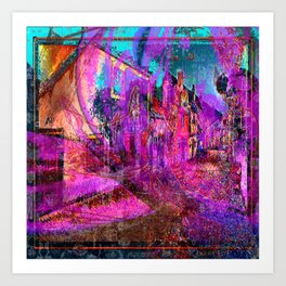 The Queen of Crunk Street [Random Source Series] Art Print