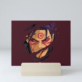 Hashirama Face Mini Art Print