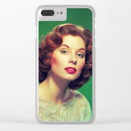 Suzy Parker, Vintage Actress Clear iPhone Case