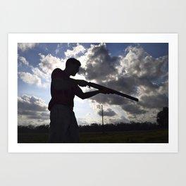 The Shooter Art Print