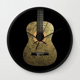 Black Gold Wall Clock