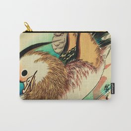 Mandarin Ducks - Vintage Japanese Art Carry-All Pouch