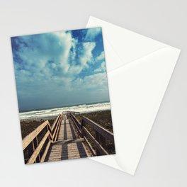 Beach Boardwalk Stationery Cards