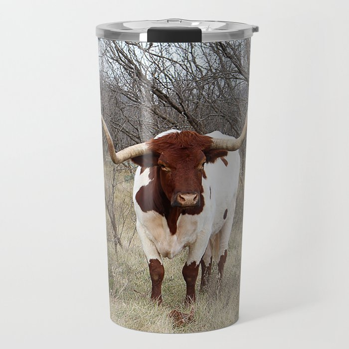 Longhorn Cattle Travel Mug