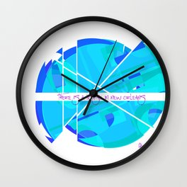 The Sun Rises Over Every House Wall Clock