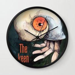 The keen finger Wall Clock