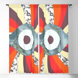 Hypno Retro Eye Blackout Curtain