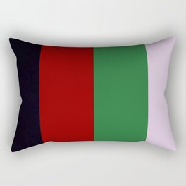 The Death of a Cancer patient (Bridge logo) Rectangular Pillow