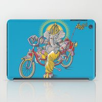 ganesh iPad Cases featuring Ganesh by mike reisel