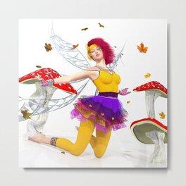 Pixie Autumn Metal Print