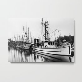 Ucluelte Harbour - Vancouver Island BC Metal Print