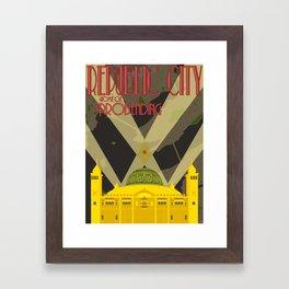 Republic City Framed Art Print