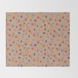 Apple spice ( Caramel mocha) Throw Blanket
