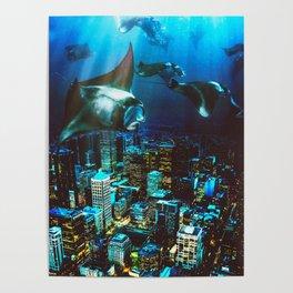 City Cruising Poster